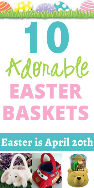 10 adorable easter baskets