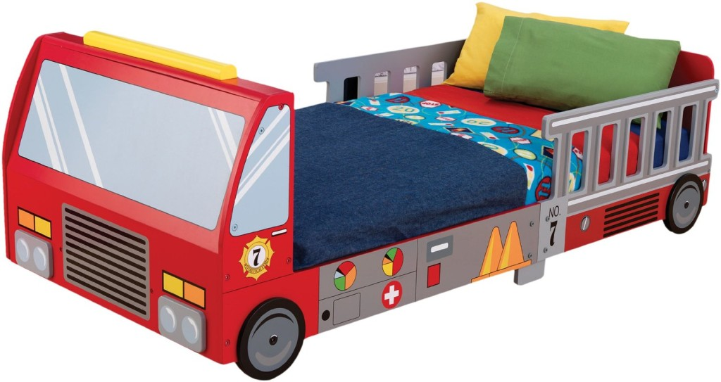Fire Truck Crib Bedding : Toddler bed ideas for your little one